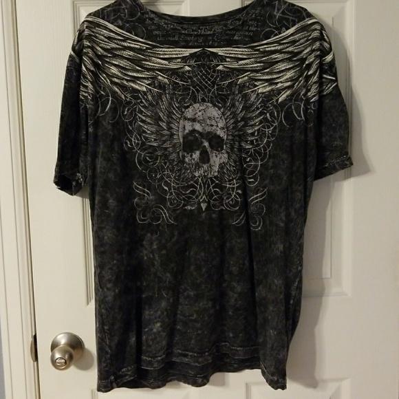 7542cf9a helix Shirts | Mens Skull T Shirt | Poshmark